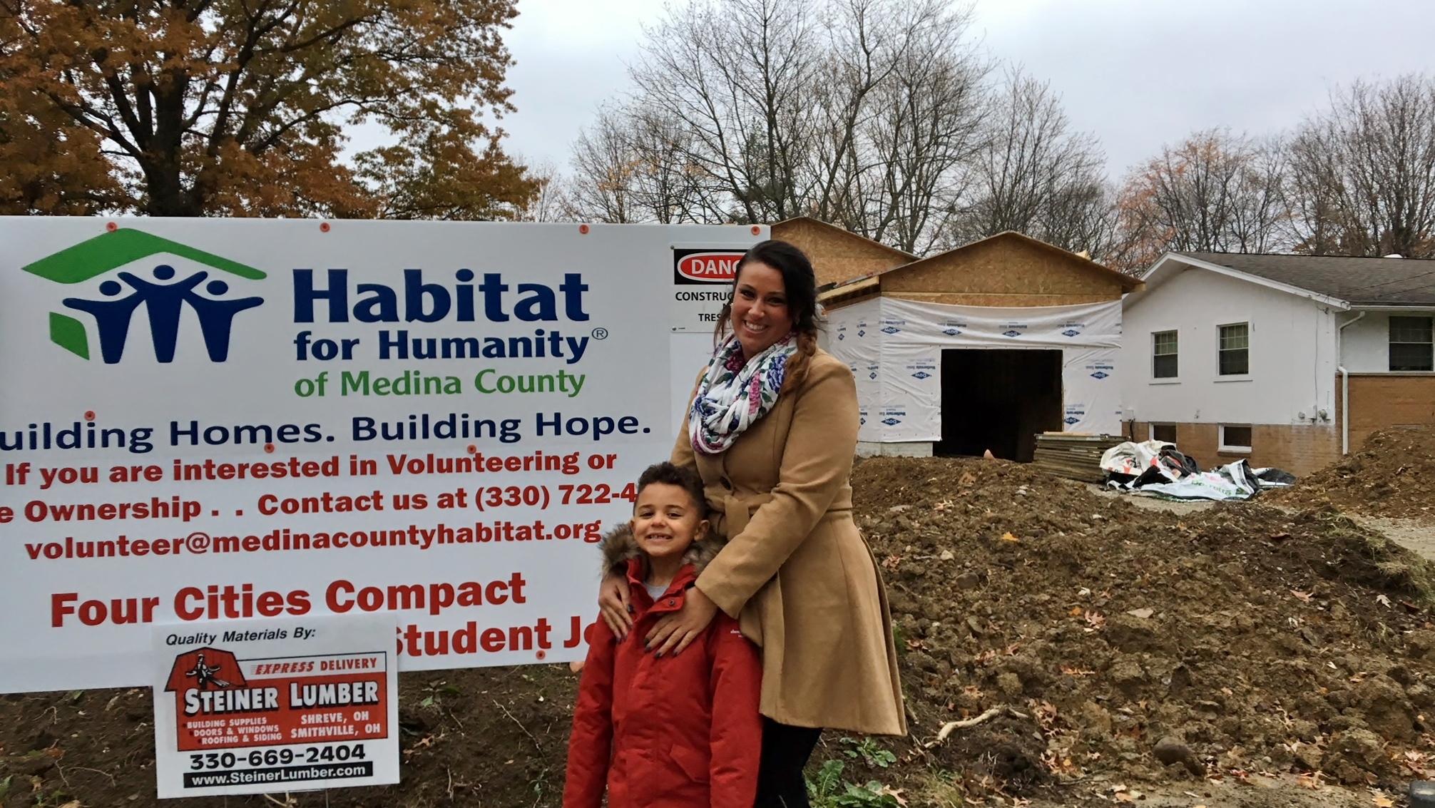 Sammy & Jaz Habitat Home